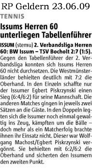Tennis H60 Issum 23. Juni 2009